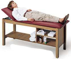 Treatment Table Storage Shelves