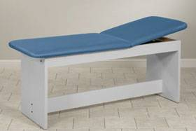 Treatment Table with H-Brace 24in W