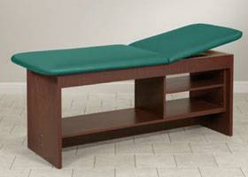 Treatment Table with Shelving 30in W