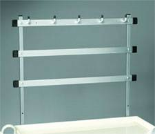 Trellis System w/ Hooks Accessory for MPD Style Hospital Carts