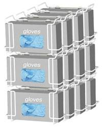 Triple Wire Glove Box Dispenser - 4 Pack