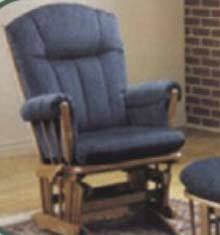 Two Post Glider Rocking Chair