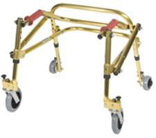 Tyke, Goldenrod Yellow Posterior Posture Walker