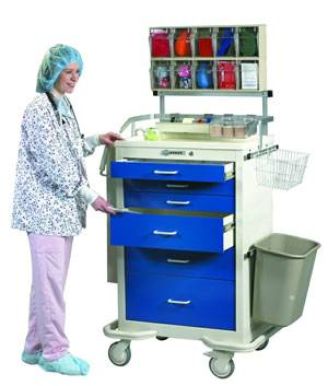 Ultimate Accessory Package for Anesthesia Carts