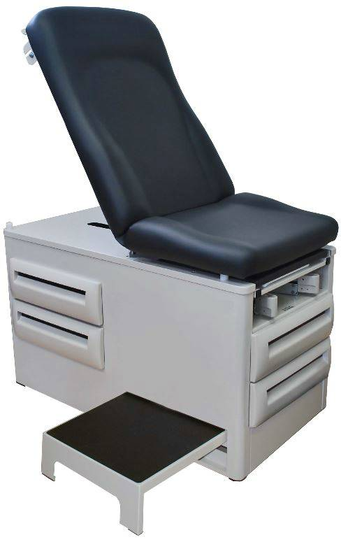 Ultra Comfort Exam Table with Side Step Stool