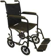 Ultra Light Wheelchair w/ Fixed Arms