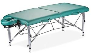 Massage Table Shown with Optional Headrest
