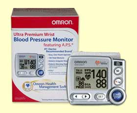Ultra Premium Wrist Blood Pressure Monitor wAPS  PC Software