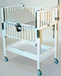 Storage Shelf Option for Child Cribs