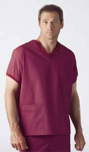 Unisex V-Neck Scrub Top