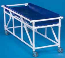 Mobile Shower Bed w/ Side Flaps