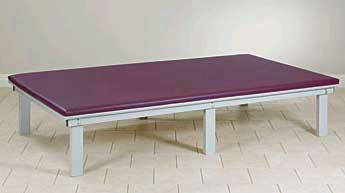 Upholstered Top Mat Platform