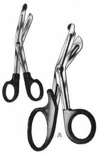 Utility Shears, Coated Handles, 5-1/2 in