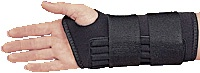 Heavy Duty Ambidextrous Double Strap Wrist Support