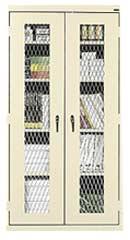 Vandal Resistant Stationary Storage Cabinet