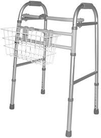 Walker Basket Option Single Release Adult Walker