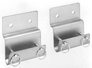 Wall-Mount Brackets for Basket Stretchers