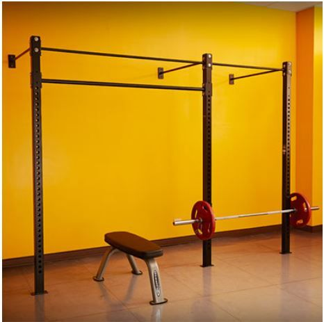 Wall Mount Half Rack Pull up  Suspension Trainer