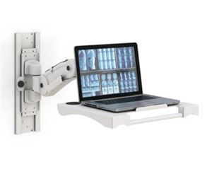 Wall Mounted Laptop Arm Adjustable Tray
