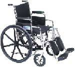 Wheelchair w/ Detachable Arms