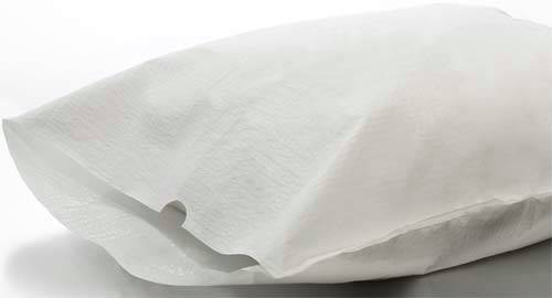 White Tissue Poly Pillowcases 21in 30in
