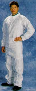 White SMS Coverall