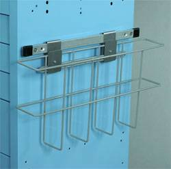 Wire Basket Accessory for MDP Style Carts