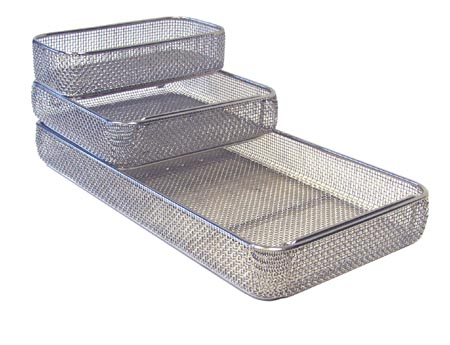 Wire Mesh Sterilization Tray