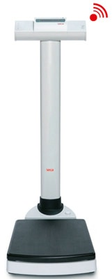Seca Wireless Electronic Column Scale with BMI Function