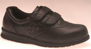 Womens Hook  Loop Diabetic Shoes