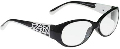 Women's Leaded Prescription Safety Glasses (Style 1)