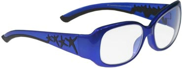 Women's Leaded Prescription Safety Glasses (Style 3)