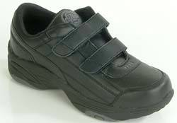 Black Athletic Diabetic Shoes