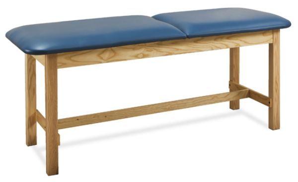 Wood Treatment Table w/ H-Brace