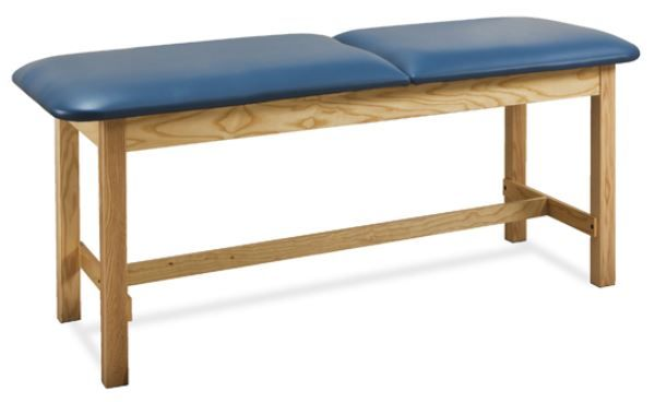 Wood Treatment Table w/ H-Brace