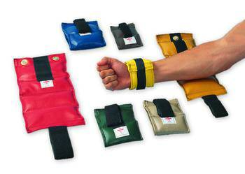 Wrist and Ankle Weights - 1 lb, Yellow
