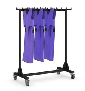 Radiology Coat Hanger with Casters