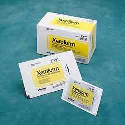 Xeroform Petrolatum Gauze Dressing- 2 2 Inch Patch