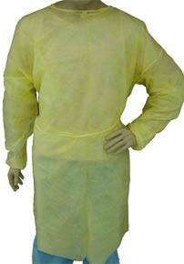 Light Weight Polypropylene Isolation Gown
