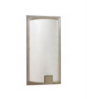 LED Transitional Sconce Light w/ Metal Accents