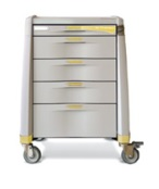 Hospital Isolation Keyless Cart