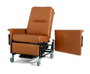 Manual Bariatric Recliner Patient Transport 86S