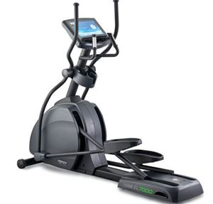 Commercial Elliptical Entertainment Console