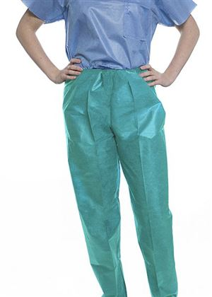 Easy-breathe scrub pants - elastic waist