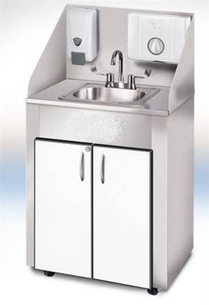 PRO Series Stainless Single Basin Portable Sink