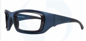Prescription Lead Shielding Safety Glasses w/ Side Shields (GRID)