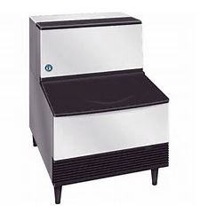 Ice Machine w/ Storage Bin 100 lb Storage