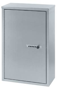 Large Double Door Stainless Steel Narcotic Cabinet