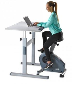 Premium Manual Workplace Bike Desk