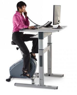 Premium Electric Workplace Bike Desk